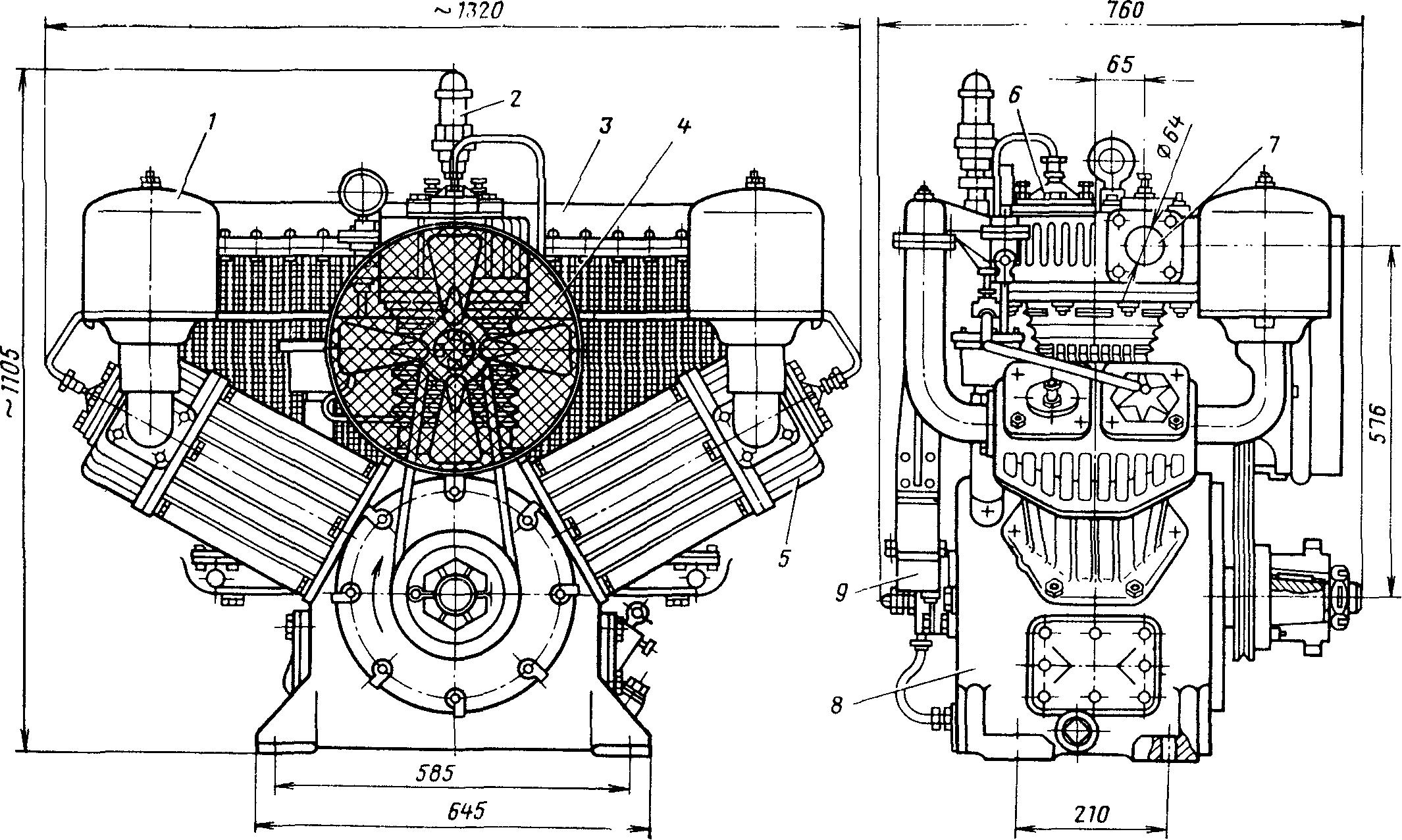 Компрессор КТ-6